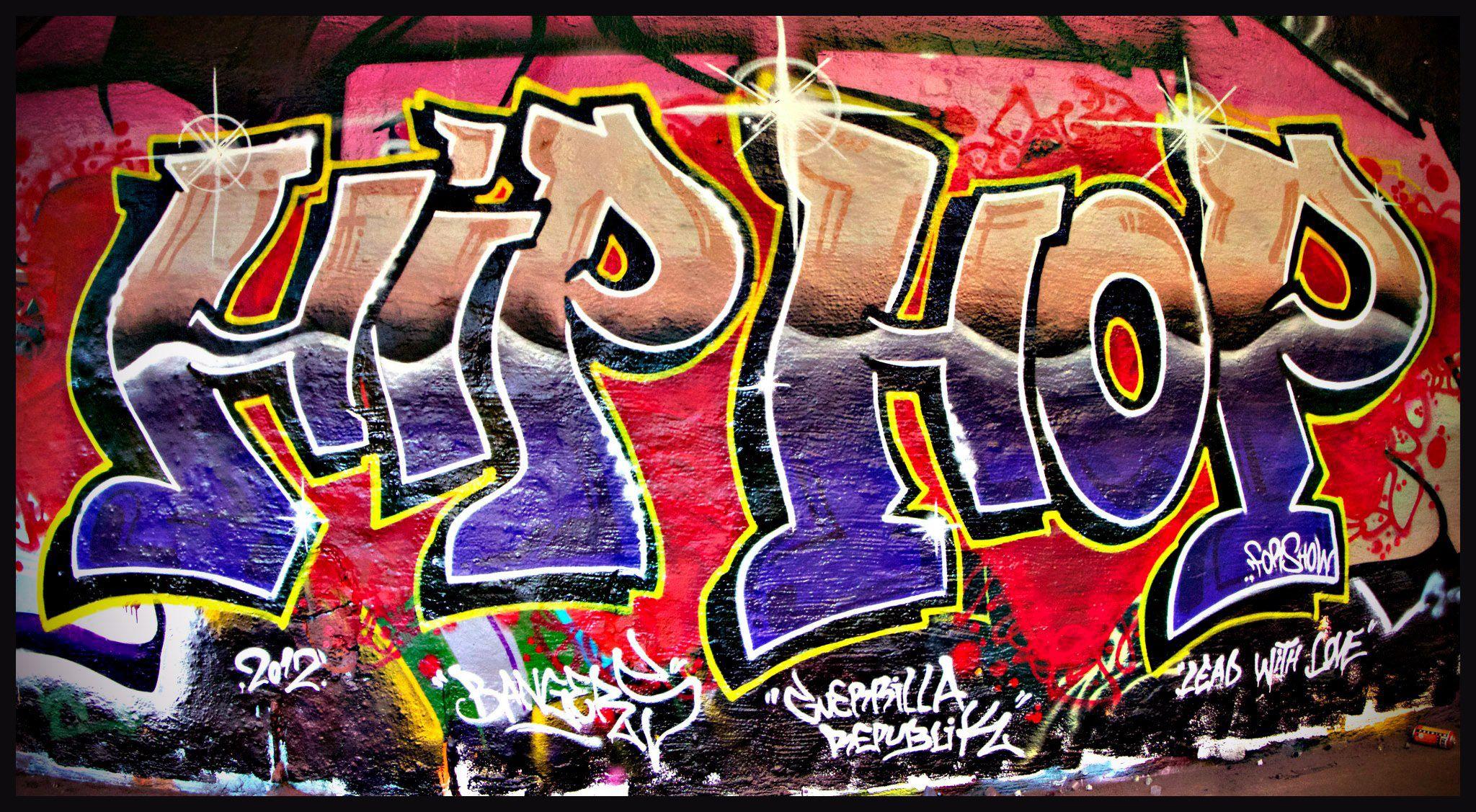 Graffiti wall activity - Graffiti Hip Hop Team Building Barcelona