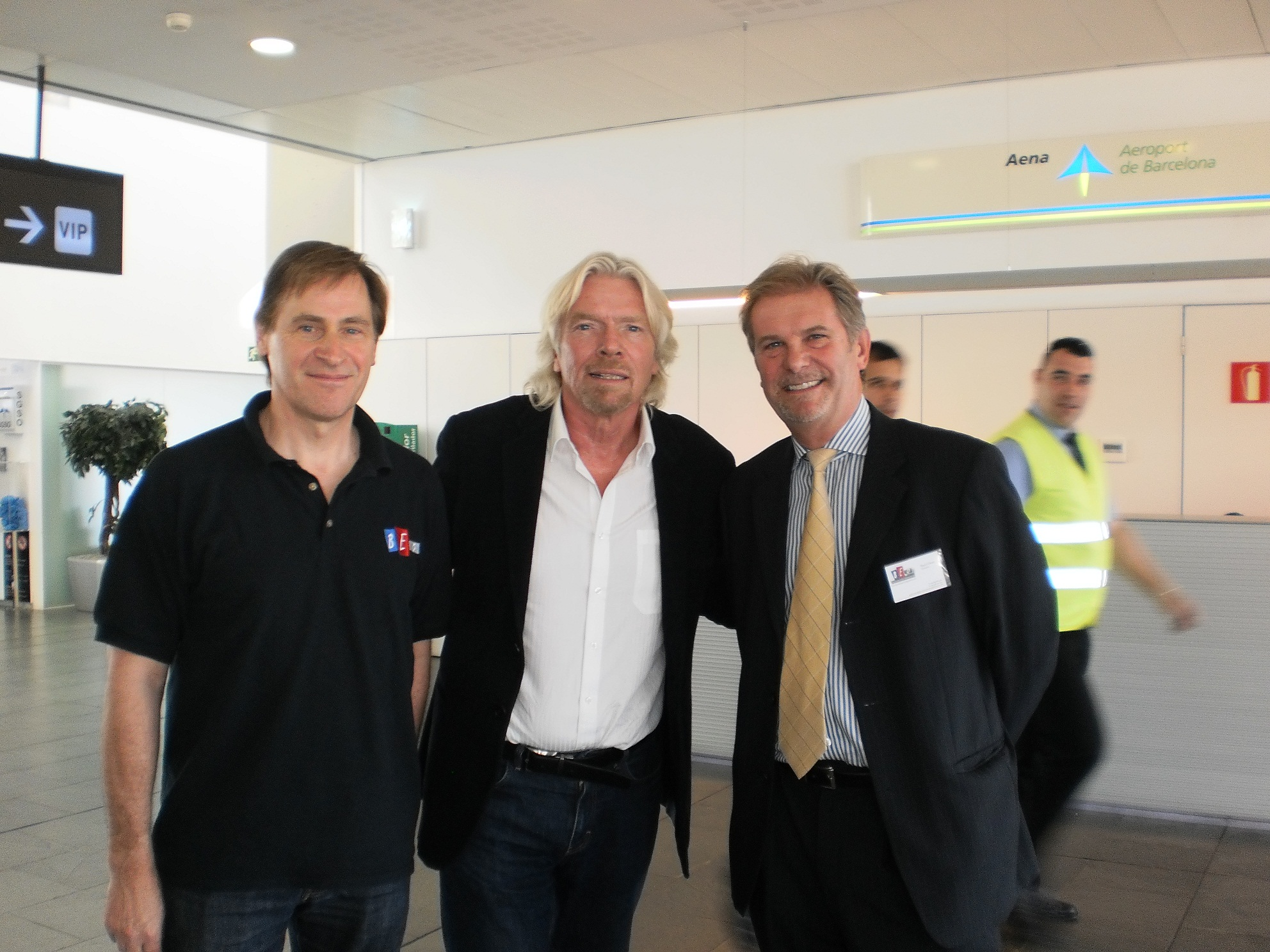 barcelona event organisation and sir richard branson barcelona 2012