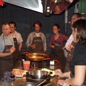 paella cooking classes barcelona