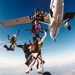 experience the thrill of tandem skydiving in barcelona
